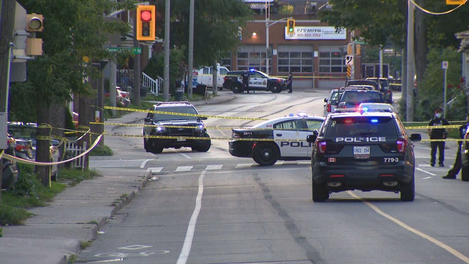 Hamilton police are investigating a shooting that sent one man to hospital.