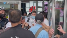 protest, Eaton, Centre,