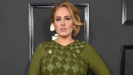 Adele arrives at the 59th annual Grammy Awards on Feb. 12, 2017, in Los Angeles. (Photo by Jordan Strauss/Invision/AP, File)
