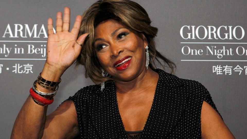 In this Thursday, May 31, 2012 file photo Tina Turner arrives for the Giorgio Armani fashion show held in Beijing. Tina Turner has revealed that she underwent a kidney transplant with an organ donated by her husband. (AP Photo/Ng Han Guan, File)