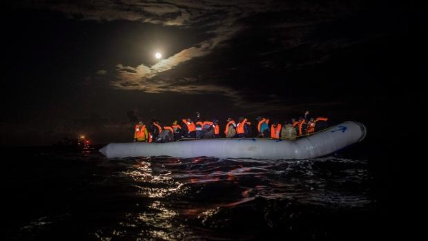 Libya dinghy