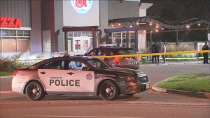 One man is dead following a shooting in the parking lot of a restaurant near Morningside and Sheppard avenues late Wednesday night.