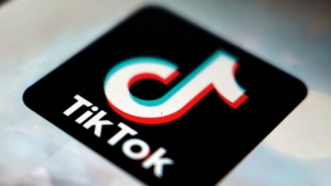 """FILE - In this Sept. 28, 2020 file photo, The TikTok app logo appears in Tokyo. Many people have embraced cooking during the pandemic, when they've been home, bored, looking to try something new. TikTok was ready to fill the gap as a foodie paradise, and has seen more than 15 billion food posts. TikTok, an app best known for dancing videos with 1 billion users worldwide, has also become a shopping phenomenon. National chains, hoping to get TikTok's mostly young users into its stores, are setting up TikTok sections, reminiscent of """"As Seen On TV"""" stores that sold products hawked on infomercials. (AP Photo/Kiichiro Sato, File)"""