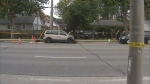 Police are investigating a collision in Etobicoke that left one person dead.
