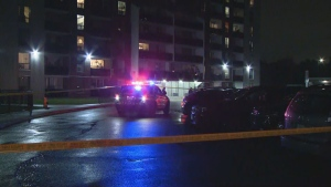 Toronto police are investigating a shooting in Etobicoke that seriously injured one person.