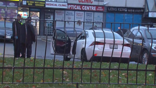 A man is dead following a shooting in North York early Saturday morning.