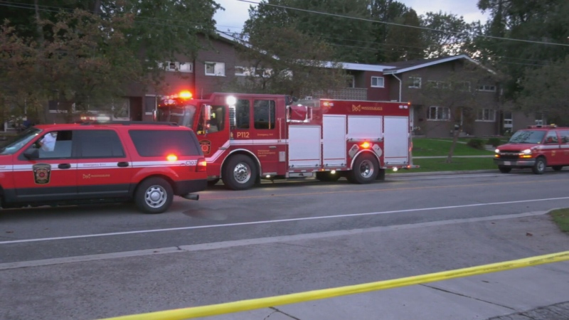 Mississauga house fire