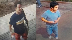 Police are looking for this man who they believe is responsible for breaking into several buildings in Mimico between August and October. (Toronto Police Service)