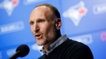 Toronto Blue Jays president Mark Shapiro is seen during a press conference in Toronto, Friday, Dec. 27, 2019. THE CANADIAN PRESS/ Cole Burston