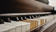 A piano is seen in this file image.