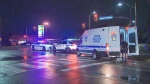 Peel police are investigating after a pedestrian was struck by the driver of a vehicle in Mississauga.