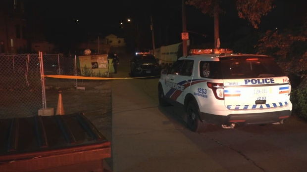 A man is dead following an early morning shooting in Toronto's Little Jamaica neighbourhood on Saturday.