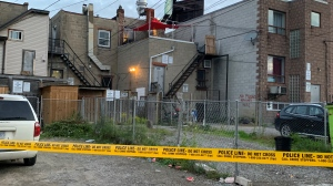 A man in his 30s is dead following a shooting near Keele Street and Eglinton Avenue West. (Courtesy: Beatrice Vaisman)