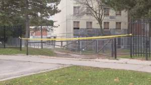 Police are investigating after a man was found dead in the area of Jane Street and Yorkwoods Gate early Saturday morning.