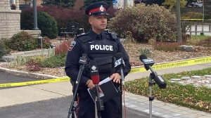 Acting Sgt. George Tudos is seen in this Oct. 23, 2021 photo. (Scott Lightfoot/CTV News)