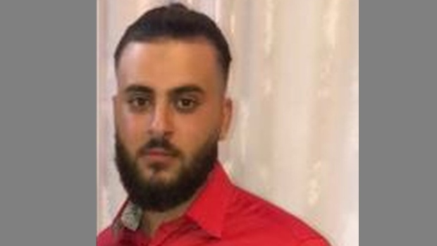 Mathio Youkhanna, 24, was found with a fatal gunshot wound at a plaza in North York on Saturday October 23, 2021. (Handout /Toronto police)