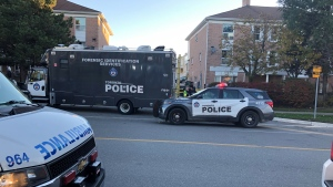 A man has died in hospital following an unknown trouble call in Scarborough early Thursday morning. (Courtesy: Patrick Darrah)
