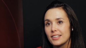 Dr. Rochagné Kilian is seen in a YouTube image from 2014.