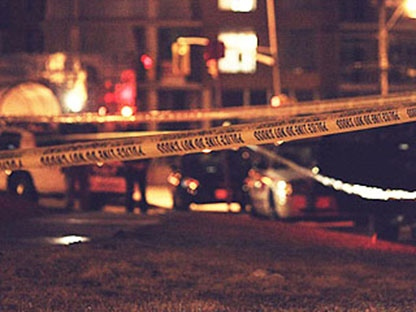 Police tape appears in this file photo. (CP24/Tom Stefanac)
