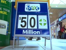 The Lotto Max $50-million jackpot was still up for grabs on Saturday, June 12, 2010.