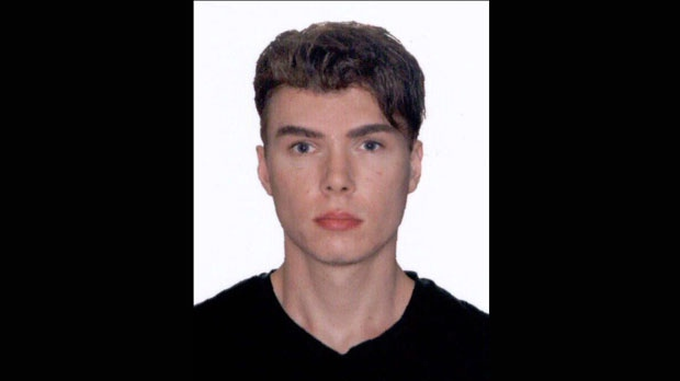 This image provided by Interpol shows an undated photo of Luka Rocco Magnotta, 29 years-old, who is accused of videotaping a gruesome murder before posting it to the internet will be charged with threatening Canada's prime minister after mailing a severed foot to his Conservative party headquarters, police said Saturday June 2, 2012. (AP Photo/Interpol)