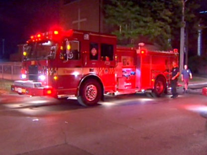 Police are investigating a suspicious fire at a church in Toronto's east end.