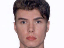 Luka Rocco Magnotta, who is accused of killing and dismembering a man, and then mailing his body parts, is pictured in a photo on Interpol's website. (Interpol)