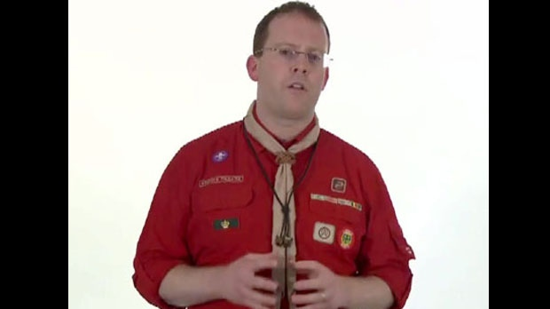 Scouts Canada Chief Commissionner Steve Kent
