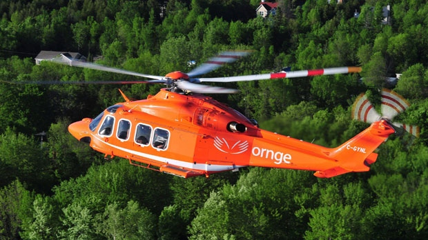 Ornge helicopter crash