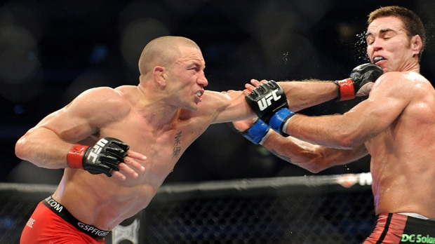 Georges St-Pierre, Condit make weight
