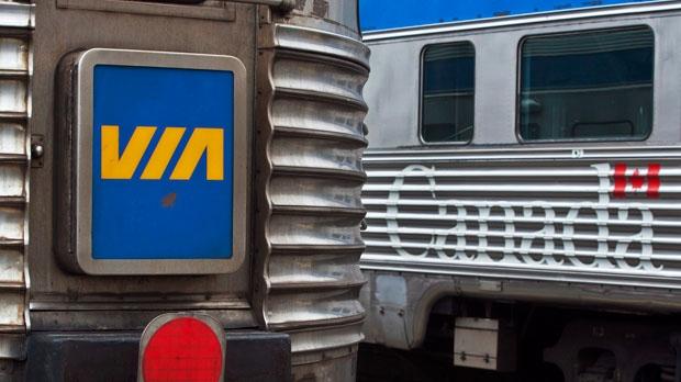 Via rail file photo
