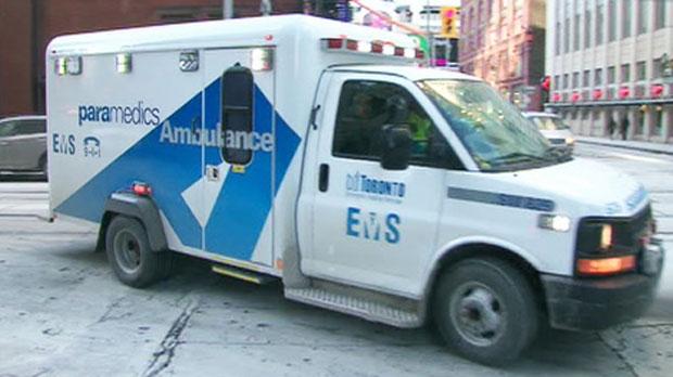 Toronto ambulance file photo