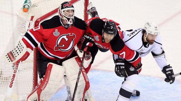 Brodeur to grace cover of NHL 14 video game. Martin Brodeur 591bed71c