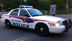 York Regional Police cruiser file photo