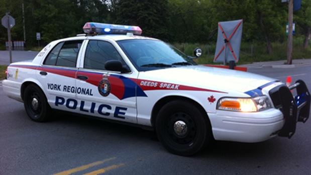 York Regional Police cruiser file photo