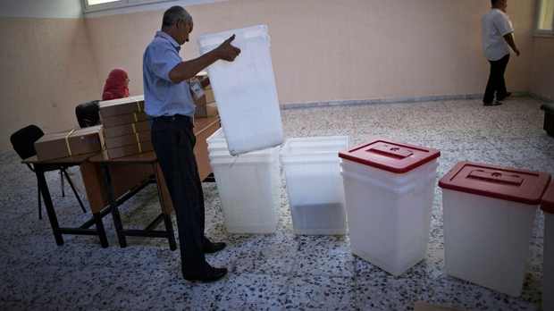 Libya election prep