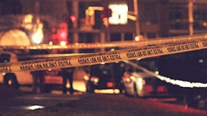 Police tape is pictured. (CP24/Tom Stefanac)