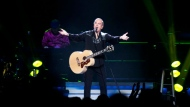American singer-songwriter Neil Diamond played at the Rogers Arena in Vancouver on Saturday, July 21, 2012. (Anil Sharma/CTV)