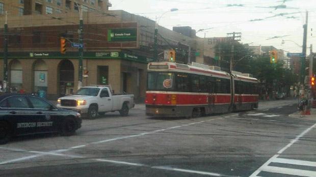 Spadina Streetcars back