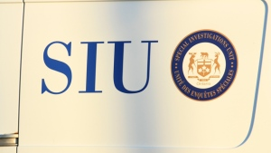 A logo for Ontario's Special Investigations Unit is pictured. (CP24/Tom Stefanac)