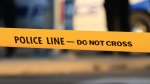 Police tape is shown in a file photo. (CP24)