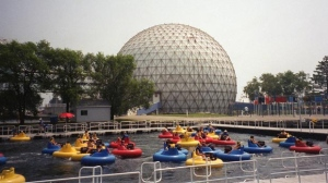 Ontario Place is pictured in this August 2004 photo. (The Canadian Press/Richard Buchan)