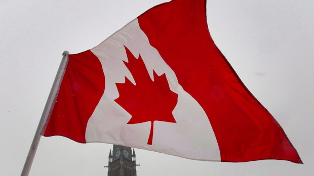 Canadian flag file photo