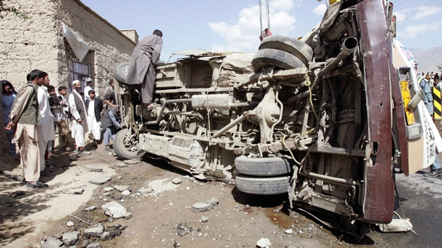 Truck Bomb Hits Gate Of Afghanistan Nato Base Cp24 Com