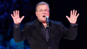 William Shatner hosts the Juno Awards in Ottawa on Sunday, April 1, 2012. (The Canadian Press/Fred Chartrand)