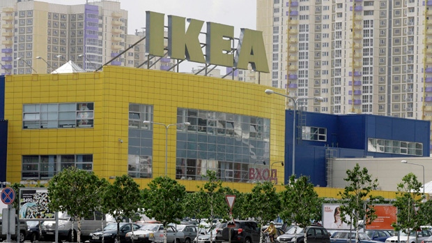Ikea store in Moscow