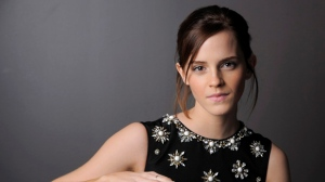 "Emma Watson, a cast member in ""The Perks of Being a Wallflower,"" poses for a portrait at the 2012 Toronto International Film Festival  in Toronto on Sunday, Sept. 9, 2012. (Chris Pizzello / Invision)"