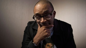 "Filmmaker Spike Lee poses for a photo as he promotes the movie ""Bad 25"" during the 2012 Toronto International Film Festival in Toronto on Saturday Sept. 15, 2012. (The Canadian Press/Chris Young)"