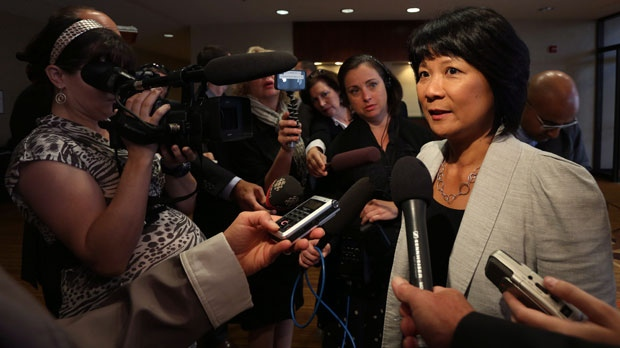 Olivia Chow is shown in this file photo. (The Canadian Press/Paul Daly)