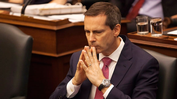 Ontario Premier Dalton McGuinty is shown in a file photo. (The Canadian Press/Michelle Siu)